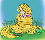Rapunzel's blanket by Symplee-D