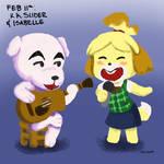 February 11th: K.K. Slider and Isabelle
