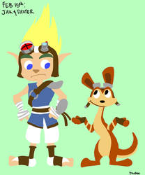 Feb 15th: Jak and Daxter by Symplee-D