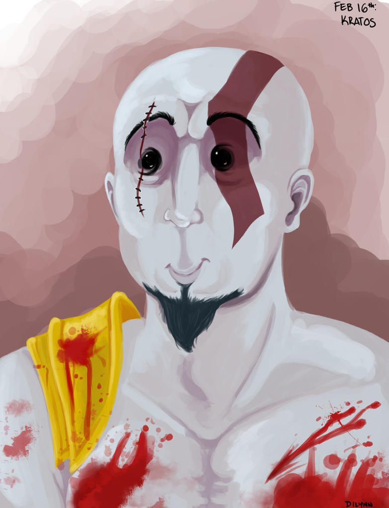 Feb 16th: Kratos from God of War. by Symplee-D