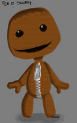 Feb 18th: Sackboy from Little Big Planet by Symplee-D