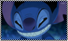 Stitch Evil Face stamp by Chidori1334