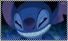 Stitch Evil Face stamp by Chidori1334