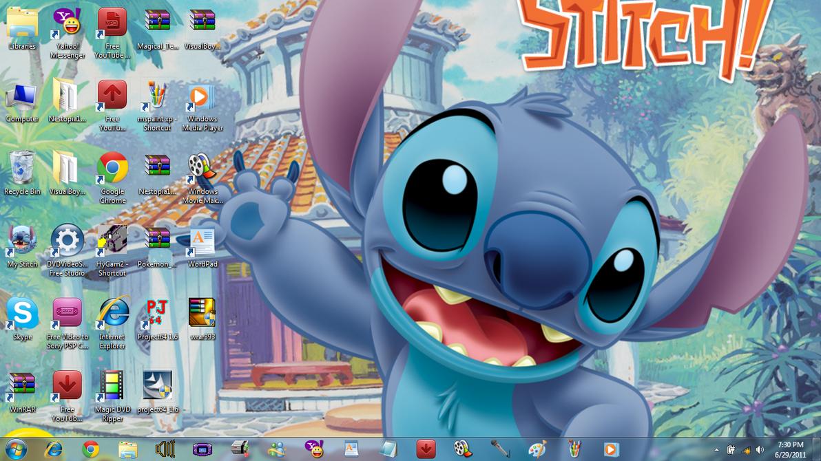 lilo and stitch wallpaper desktop