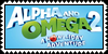 Alpha and Omega 2 stamp by Chidori1334