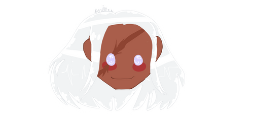 Sakura Ogami Sticker/Icon-Danganronpa