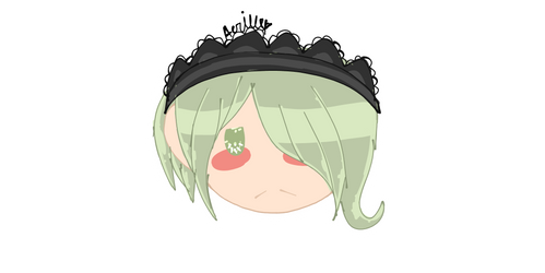 Kirumi Tojo Sticker/Icon-Danganronpa