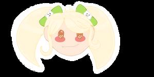 Hiyoko Saionji Sticker/Icon-Danganronpa