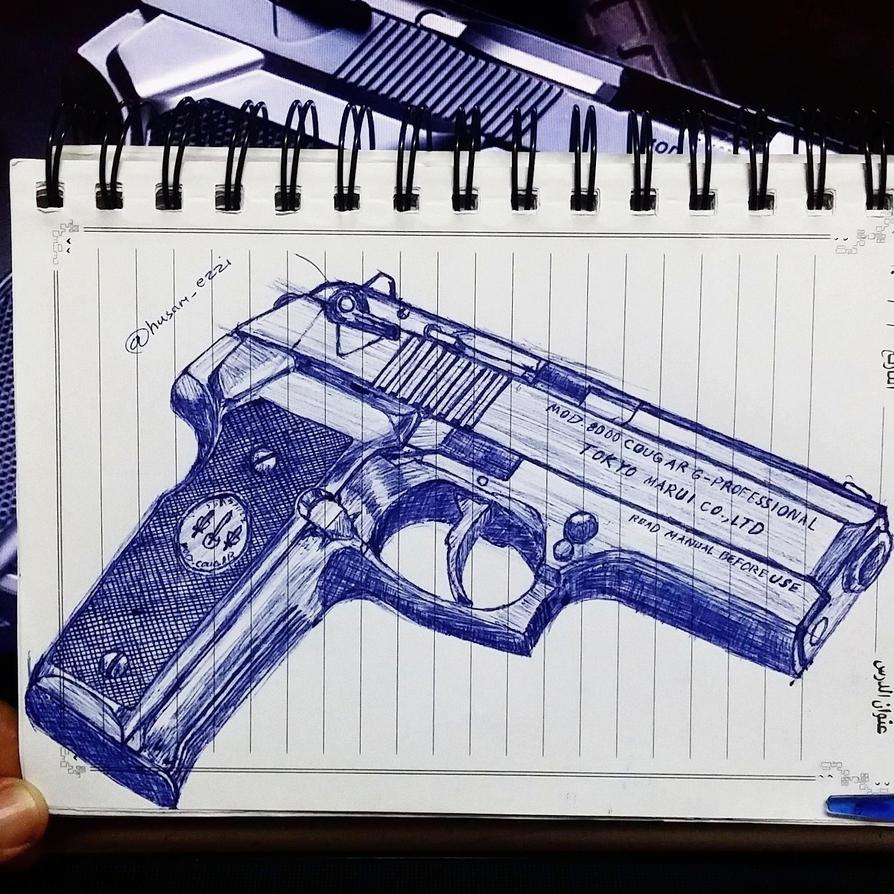 A Police Gun by husamezzi