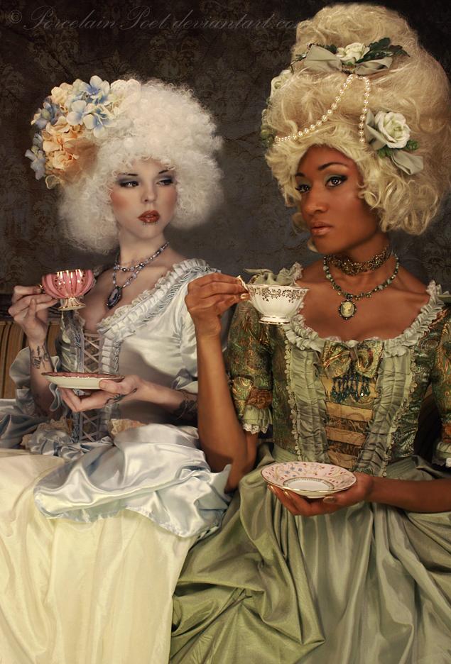 Tea Party by PorcelainPoet