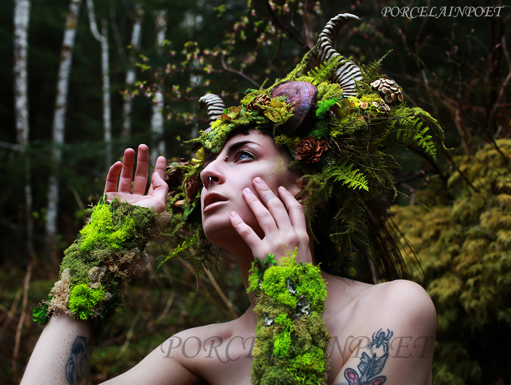 Faun I by PorcelainPoet