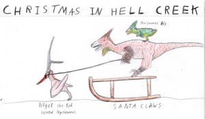 Christmas in hell creek by EdaphosaurusPogonias