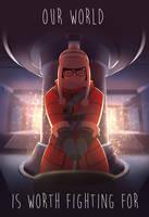 Overwatch Mei by Crestren