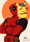 Deadpool Pikachu by Crestren