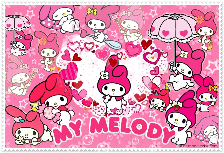 My Melody Collage by sasshimee on DeviantArt