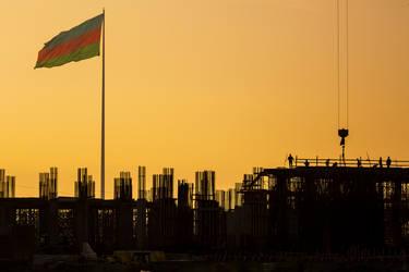 Baku,sunrise