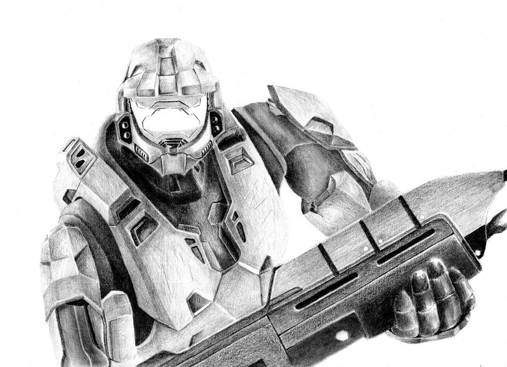 Master Chief by FlashofWildfire