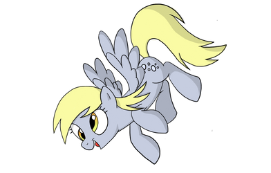 Derpy Hooves coloured by Pavagat