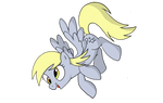 Derpy Hooves coloured