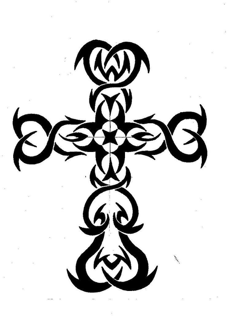 tribal cross wallpaper by - photo #20