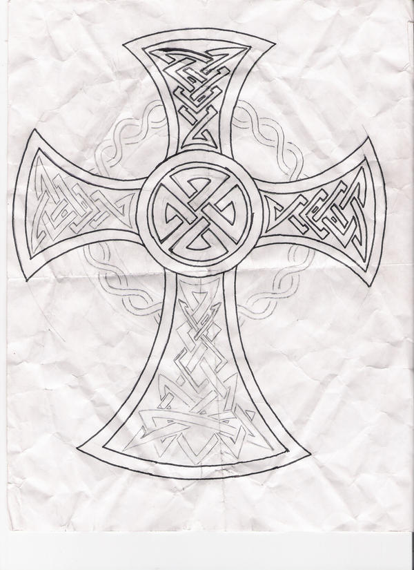 cross tattoos for men