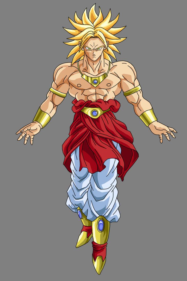 Broly - Super Saiyan by OriginalSuperSaiyan on DeviantArt