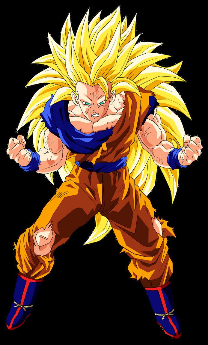 Goku super saiyan 3 by goku kakarot on deviantart - Sangoten super sayen 3 ...