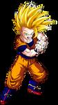 Gohan Super Saiyan 2 (teen)