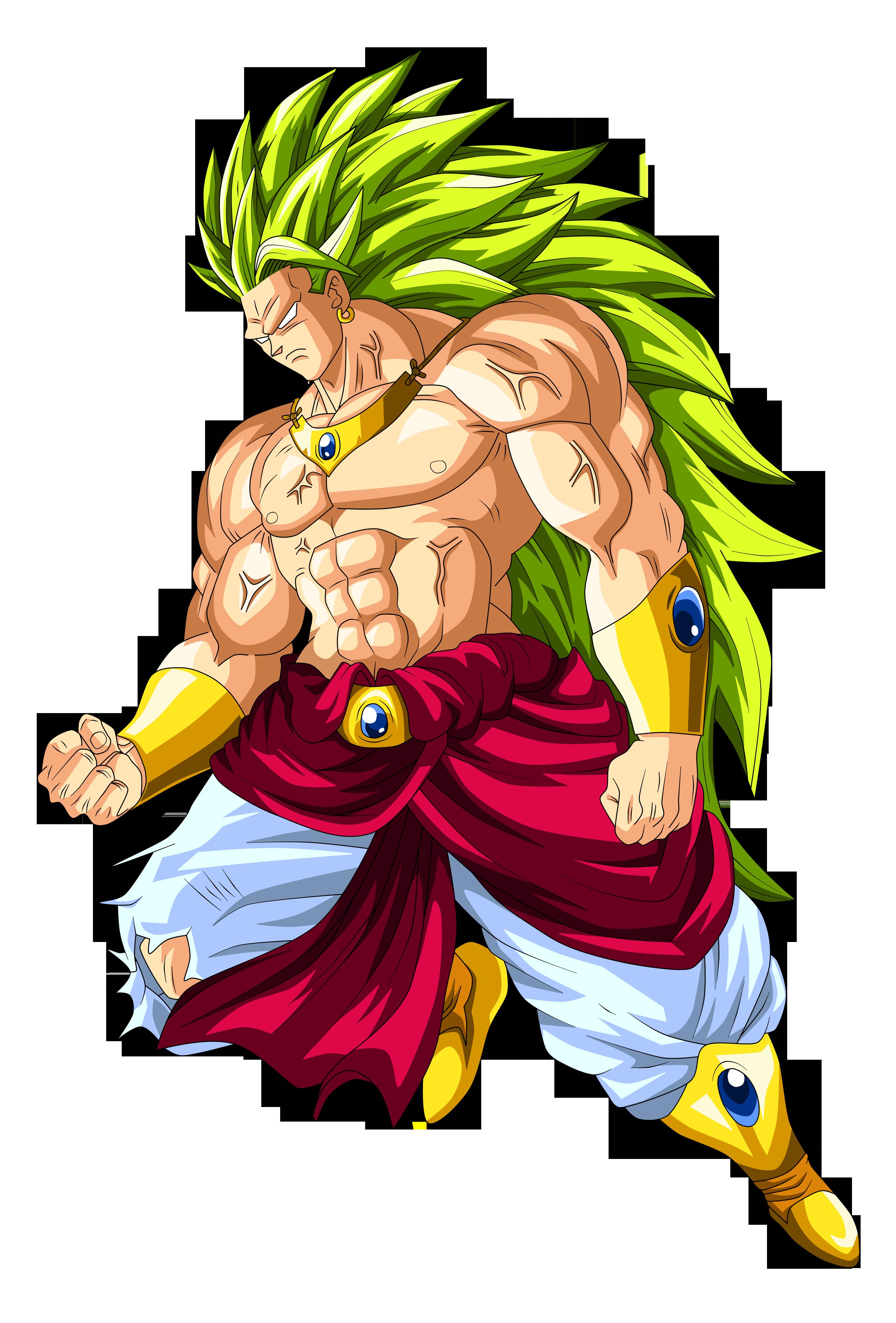 Broly Super Saiyan 3 by Goku-Kakarot on DeviantArt