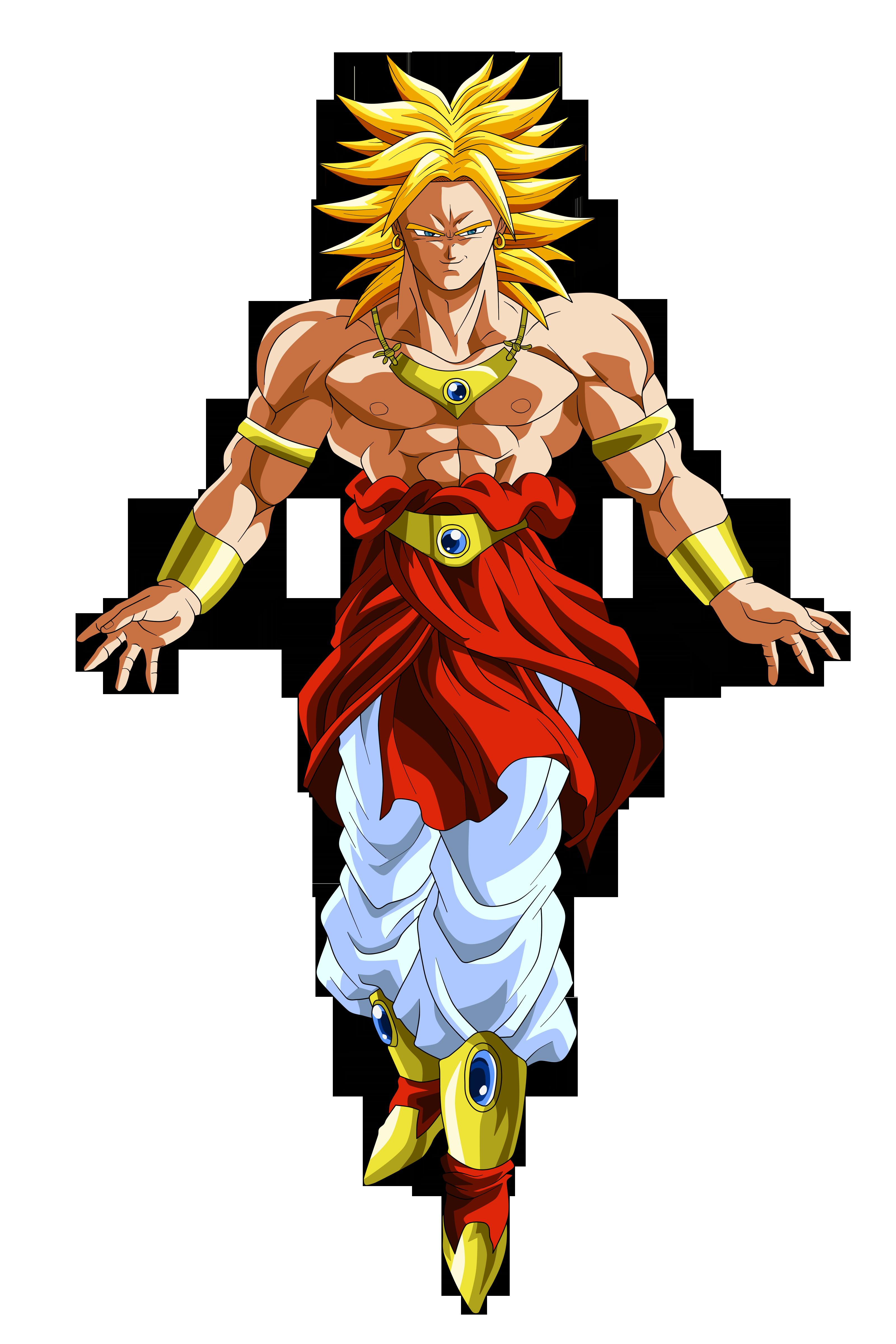Broly Super Saiyan by Goku-Kakarot on DeviantArt