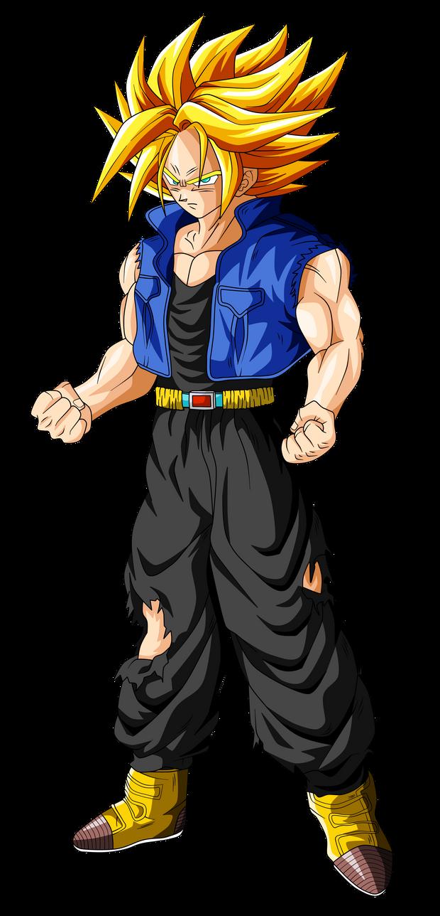 Trunks super saiyan ascended by originalsupersaiyan on - Trunk super sayen ...