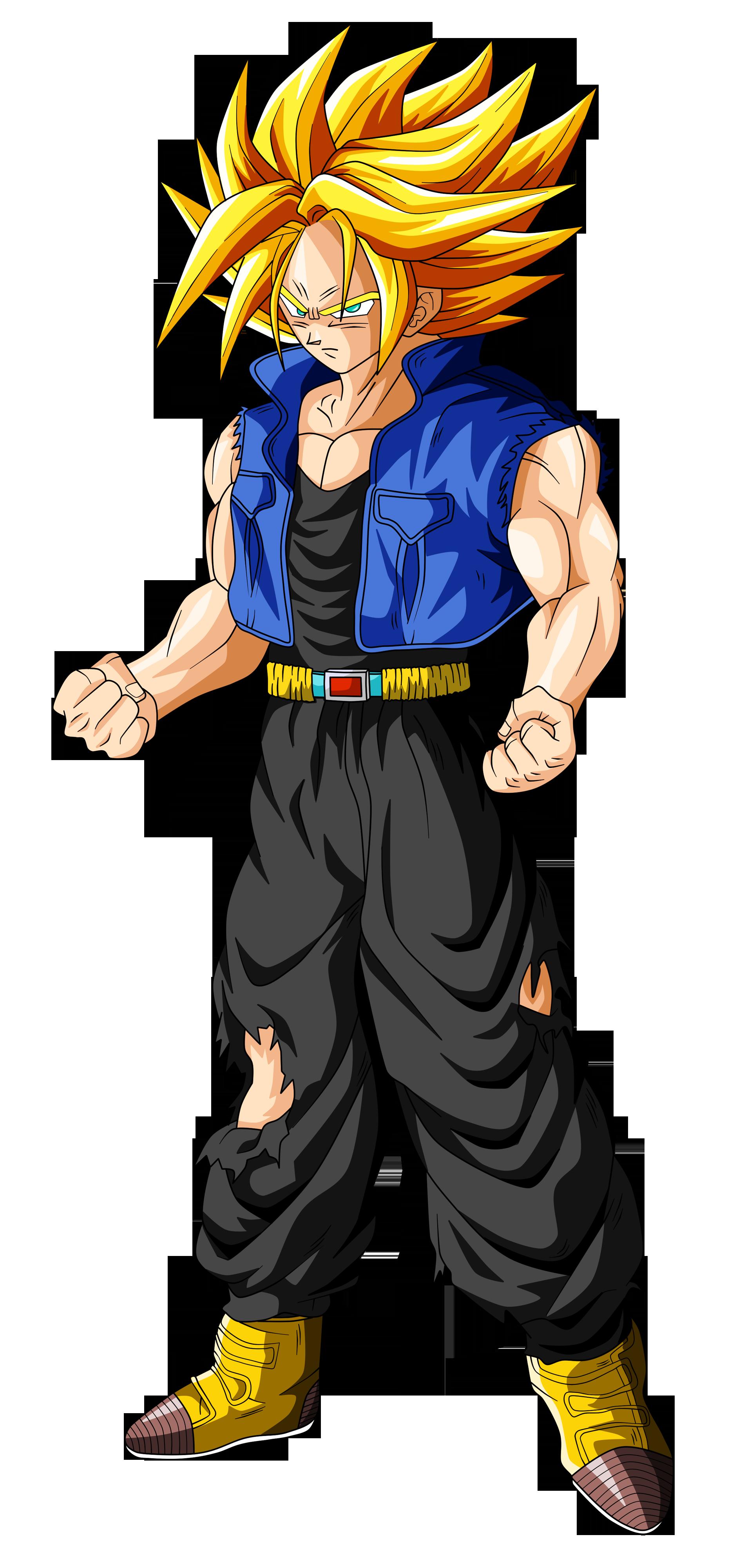 Trunks Super Saiyan (ascended) by OriginalSuperSaiyan on ...