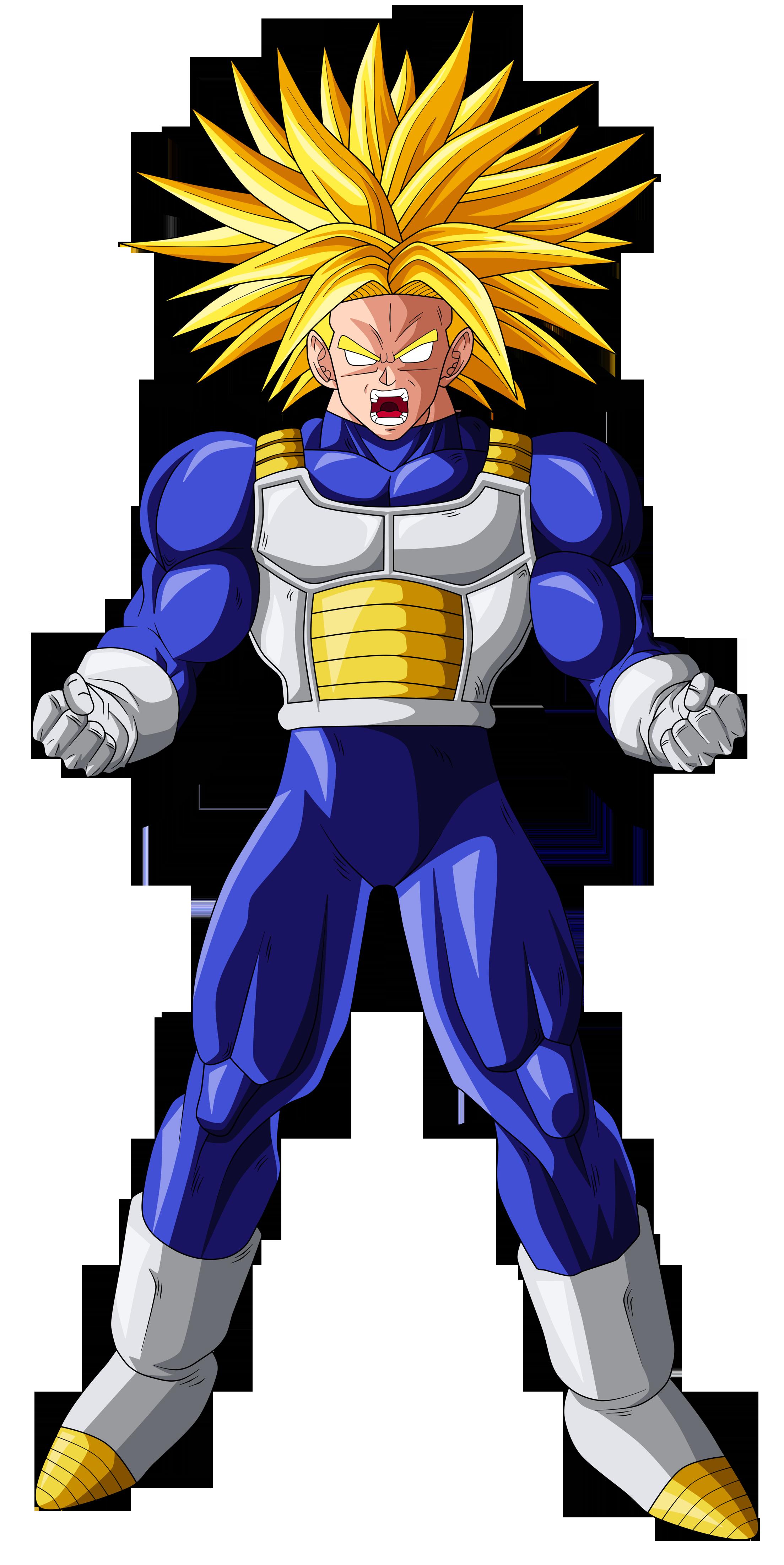 Trunks Super Saiyan (ultra) by OriginalSuperSaiyan on ...