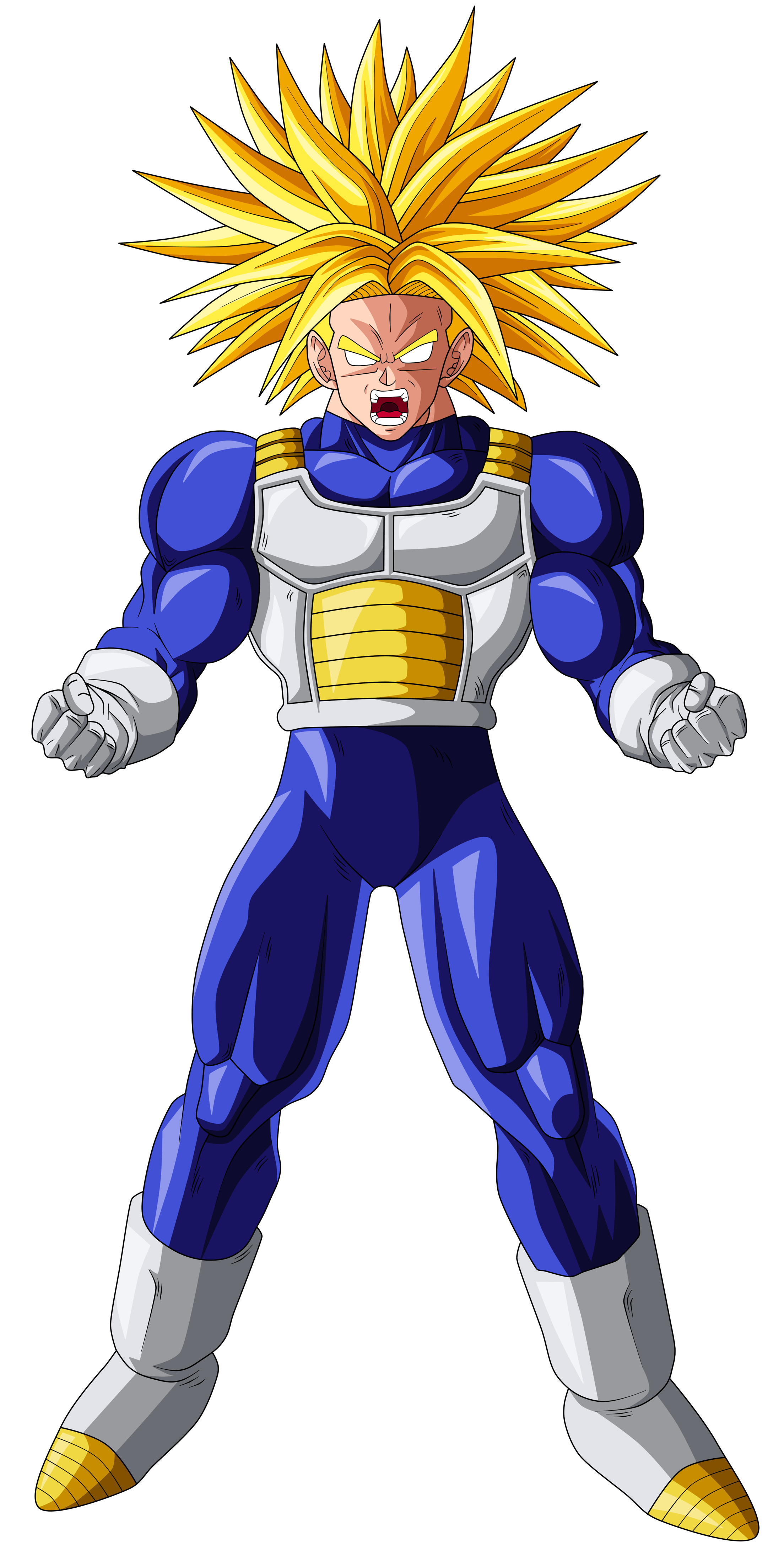 Trunks super saiyan ultra by originalsupersaiyan on - Trunk super sayen ...