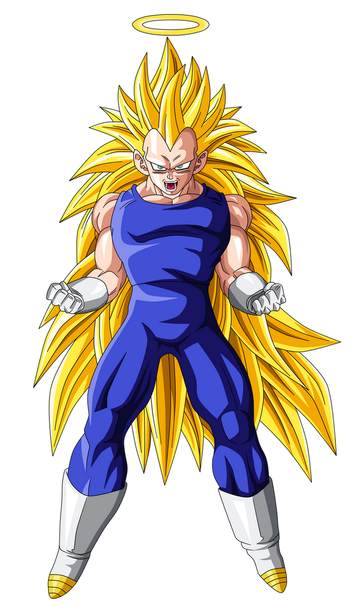 Vegeta Super Saiyan 3 by OriginalSuperSaiyan on DeviantArt