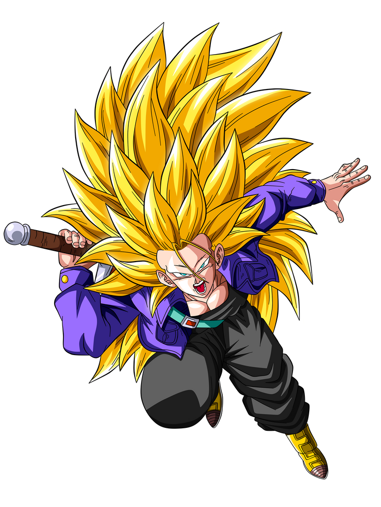 Trunks super saiyan 3 by goku kakarot on deviantart - Sangohan super saiyan 3 ...
