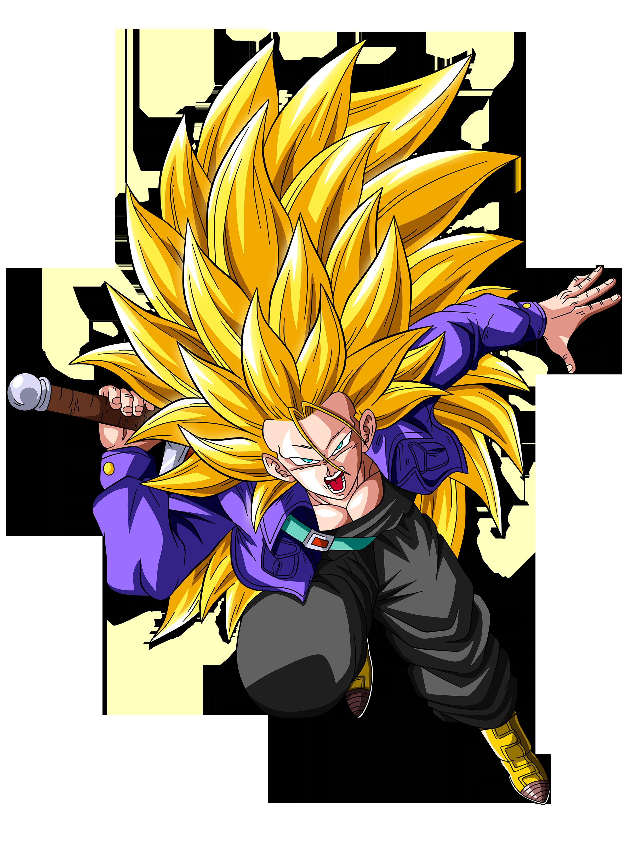 Trunks Super Saiyan 3 by OriginalSuperSaiyan on DeviantArt