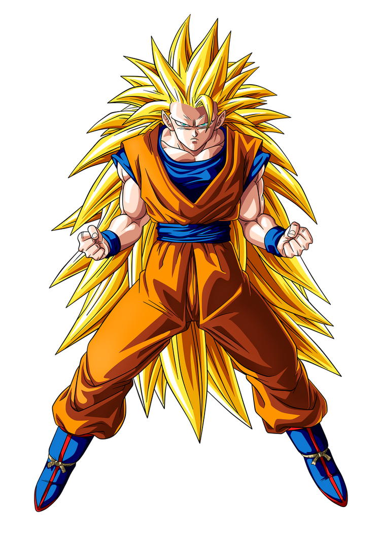 goku super saiyan 3 ssj3 by goku kakarot on deviantart