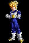 Future TRUNKS Ascended Super Saiyan ASSJ