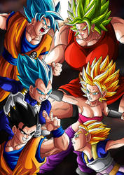 Clash of the Saiyans