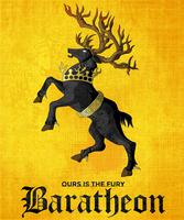Baratheon sigil by ameyfire
