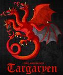 Targaryen sigil by ameyfire