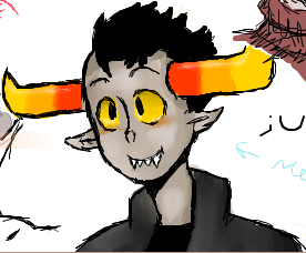Tavros Doodle by Ask-Tavros-N