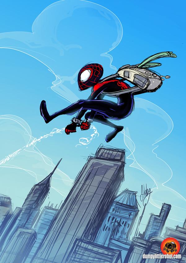 Miles Morales Spider-Man by AbigailRyder