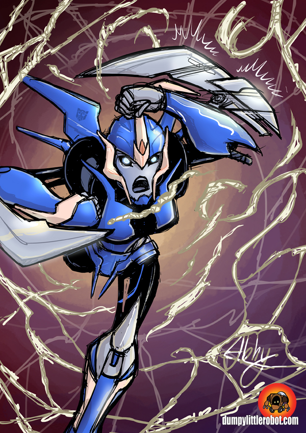 Arcee by AbigailRyder on DeviantArt