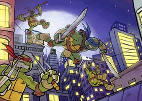 Teenage Mutant Ninja Turtles by AbigailRyder