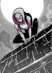 Spider-gwen by AbigailRyder