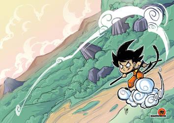 Goku - Colours by AbigailRyder