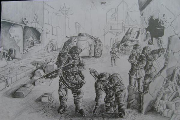 Combat patrol by Ancalagan