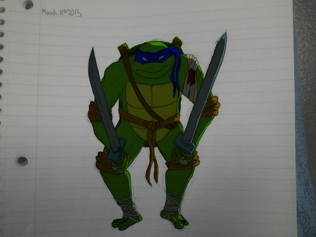 Leonardo tmnt by Sixth-Phase